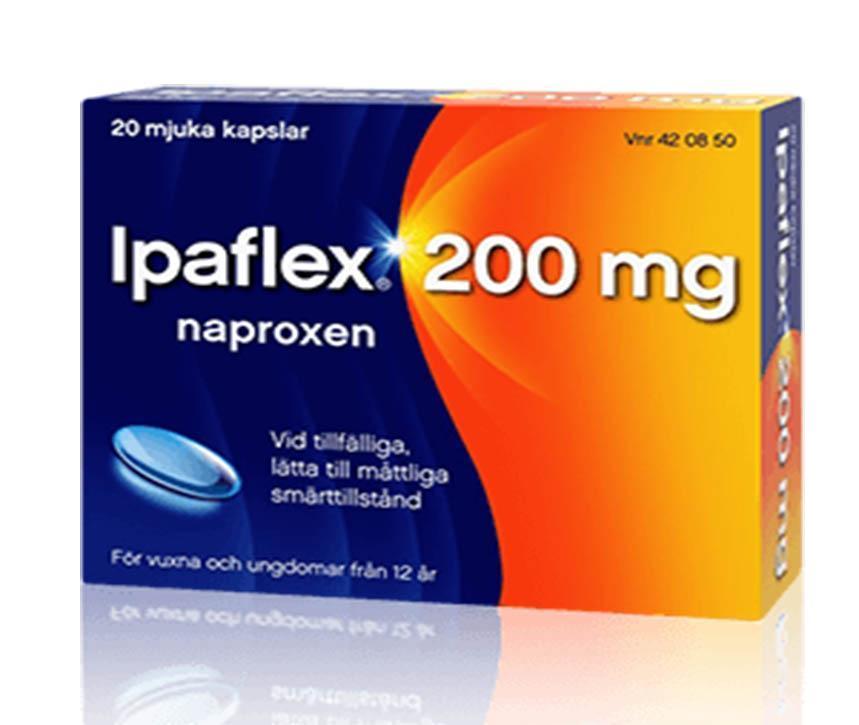 naproxen mot inflammation